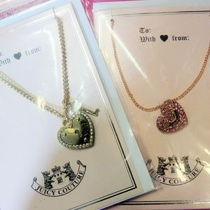 Two genuine Juicy Couture Necklaces